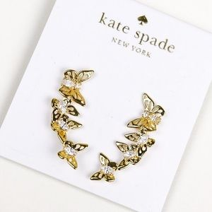 Kate spade butterflies earrings